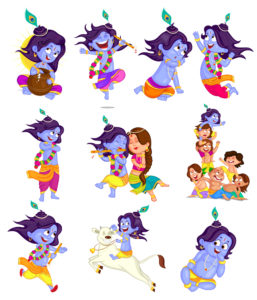 baby krishna images hd