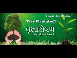 """""""पेड़ लगाने के नारे हिंदी में"""" (Slogan on Tree Plantation ..."""